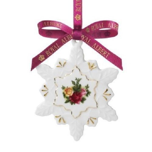 Royal Albert Christmas - Fiocco di neve 8,5 cm