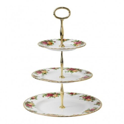 Royal Albert - Alzata 3 piani Old Country Roses
