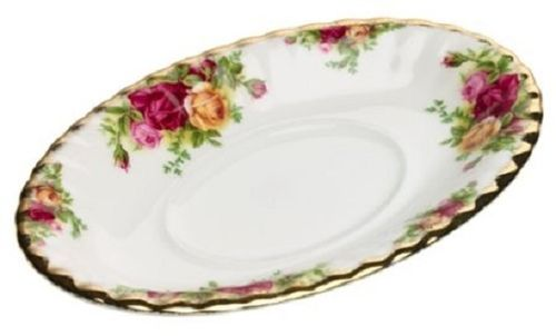 Royal Albert - Supporto ovale per salsiera Old Country Roses